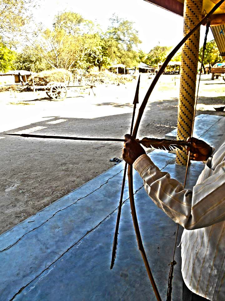 Weapon used by Rathwa tribe [Adivasi caste ] in Kawant in eastern Gujarat. :)