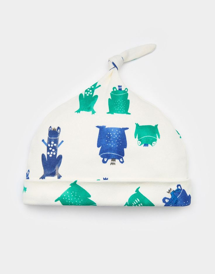 Koo Frog Prince Single Knot Hat  | Joules UK