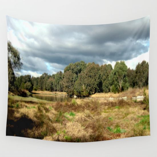 Swamp, Clouds, Sky, Landscape, Nature, Heritage Trail, Photography. Sale - Victoria - Australia.