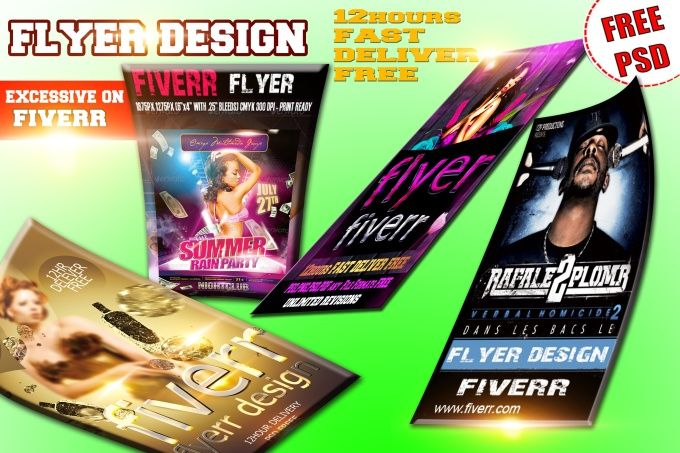 create FLYER and Any graphic work in 12hrs by flyers1st