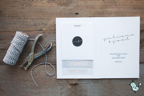 Rustic invitation by Maria Pipa