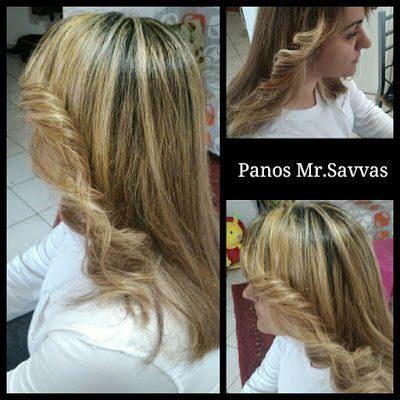 In My World by Panos Mr.Savvas: Hair styling (ανταύγειες) by Panos Mr.Savvas