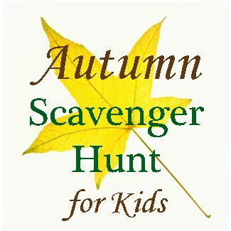 Autumn Scavenger Hunt for Kids (printable)