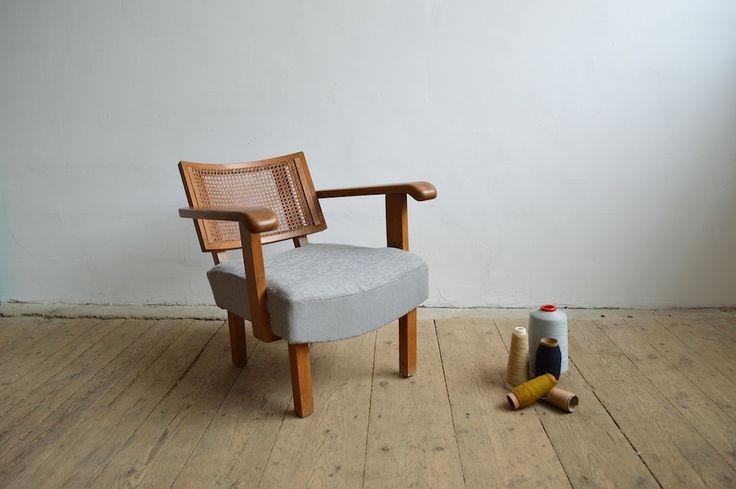 Gyula Kaesz bauhaus armchair (artKRAFT Original Industrial Furniture)