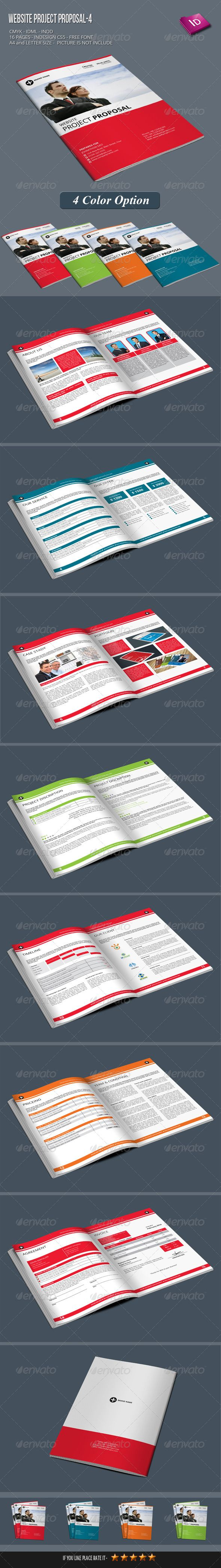 construction proposal templates%0A Website Project Proposal