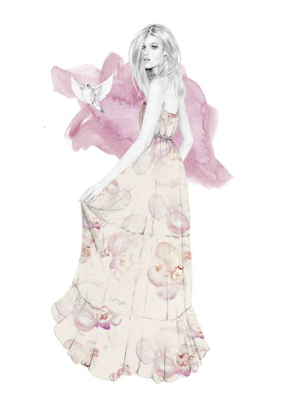 Kelly Smith: Birdy & Me for Portman's Spring 2010 Collection | Sassi Sam Girlie Gossip Files