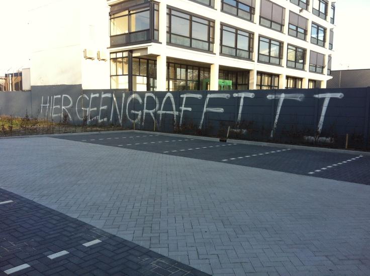 Hier geen graffiti!