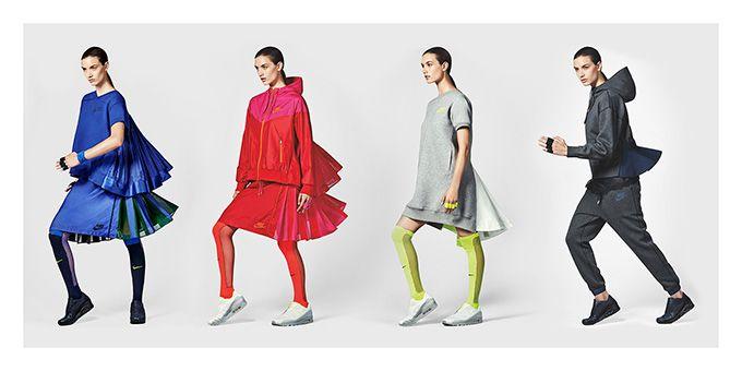 NIKE x sacaiのコレクション発表 - ウィンドランナーやスカート、スニーカーが登場 | ニュース - ファッションプレス
