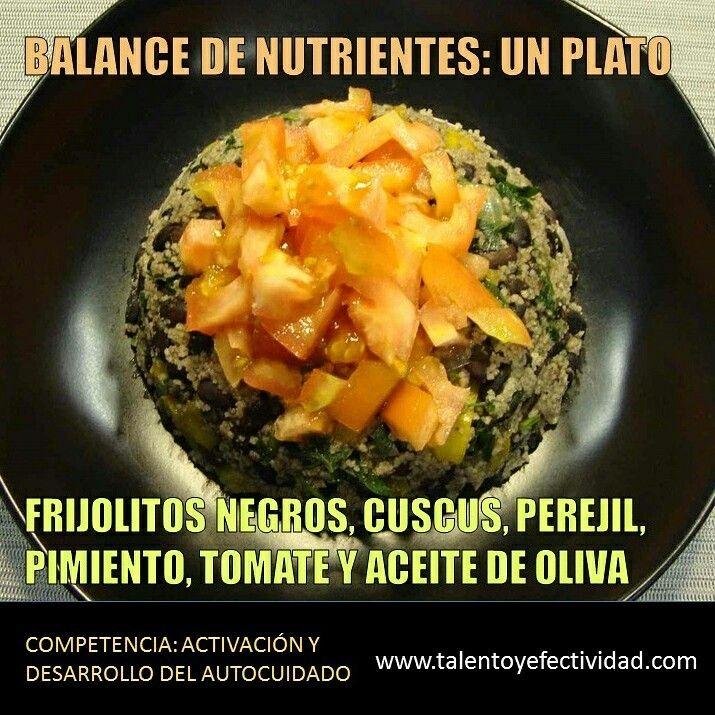 Balance de sabor y nutrientes