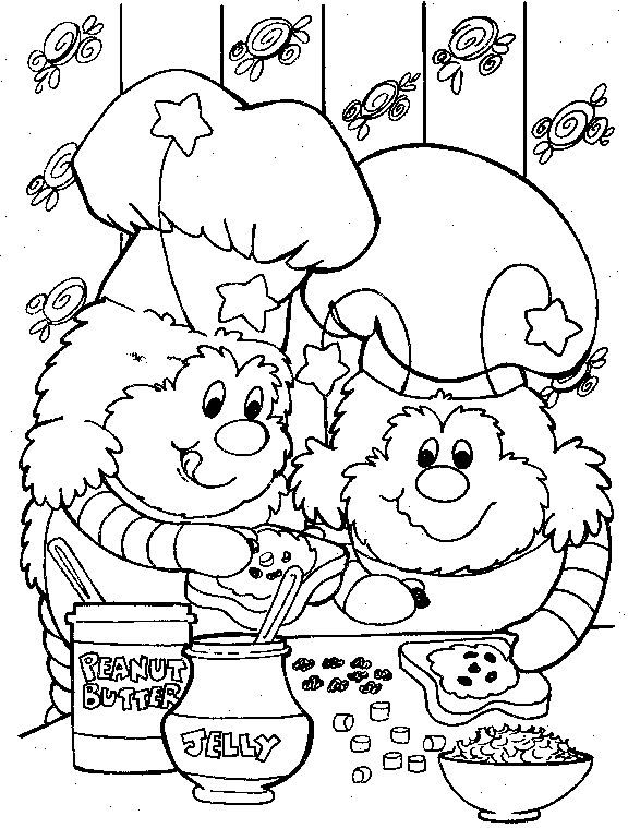 135 best Rainbow Brite Coloring Pages images on Pinterest | Rainbow ...