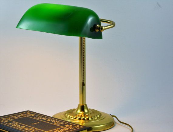 17 Best ideas about Bankers Lamp – Desk Lamp Green Shade