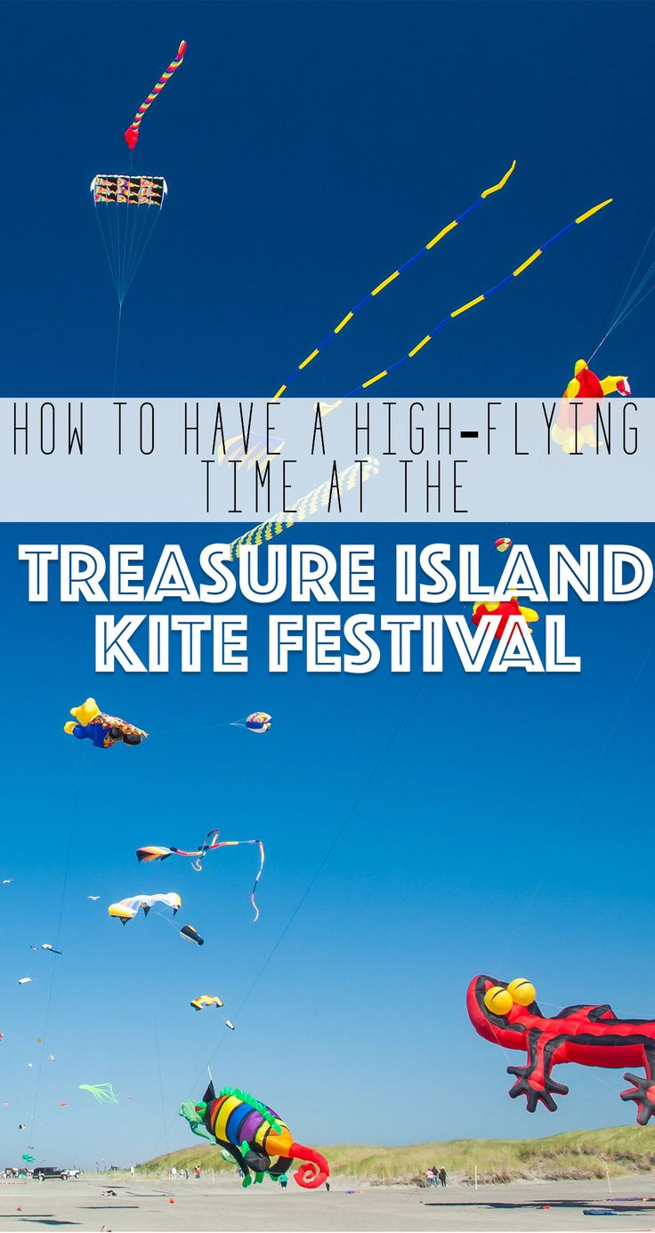 Let your spirit and your kite soar during this Gulf Coast of Florida Kite Festival that's fun for everyone. Read more about the Treasure Island Kite Fest on our blog.