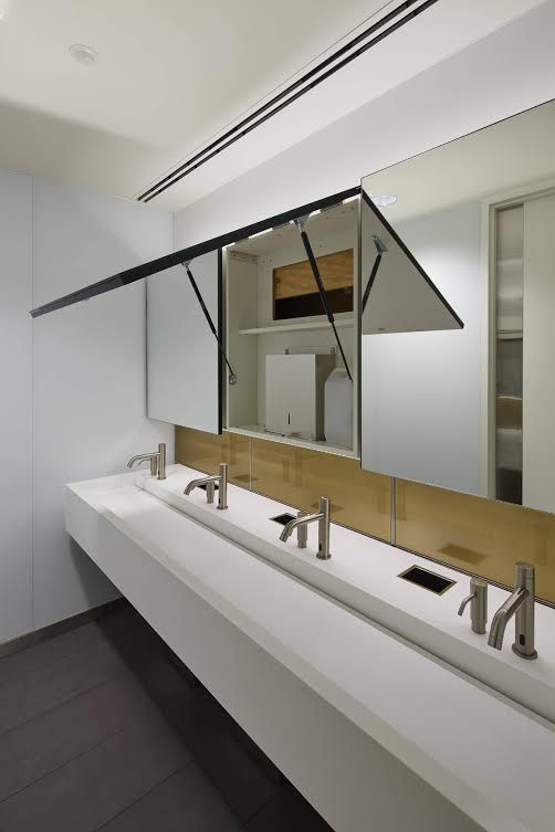 With an innovative mix of multifunctional design, concealed storage and sleek styling, the new Prism Mirror Box System from Maxwood Washrooms reflects the aesthetic and functional needs of modern commercial washrooms. Maxwood's vanity units with hinged mirrored panels make the most of wall space, offering attractive, convenient storage for paper towels and soap dispensers ready …