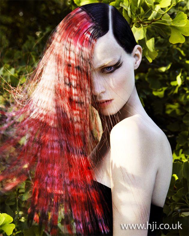 Vous aimez colorez vos cheveux? Découvrez le Pixel Art! Voici une série créer pour les Hairdressing Awards à Londres par Angelo Seminara! Incroyable!