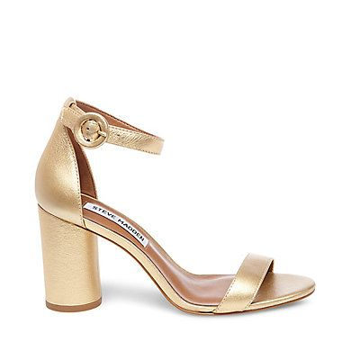 The Best Shoes to Wear to Weddings That are Cute and Comfortable - gold Steve  Madden heels