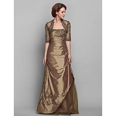 A-line Strapless Taffeta Mother of the Bride Dress (612490) – GBP £ 70.99