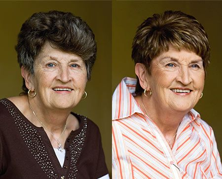 """""""I loved each and every minute of the day."""" ~ Hannetjie  View the before and after here: http://chataromano.com/makeover/hannetjie-69-retiree/  #style #beauty #makeover"""