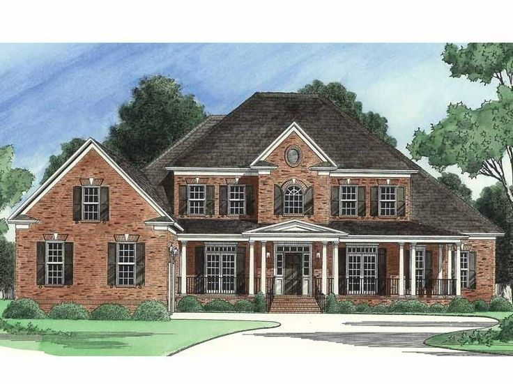 Eplans Country House Plan   Country Dream House   4140 Square Feet and 6  Bedrooms. Best 25  6 bedroom house plans ideas on Pinterest   House floor