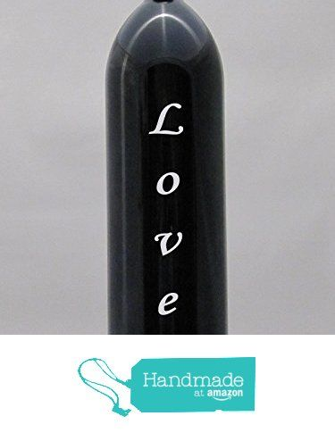 Miron Glass Water Bottle LOVE Corsiva Design Sandblasted Engraved Etched 1 Liter With tamper proof cap from Algrium Engraving & Jewelry http://www.amazon.com/dp/B016T67DVW/ref=hnd_sw_r_pi_dp_CGlzwb0KVVXRS #handmadeatamazon