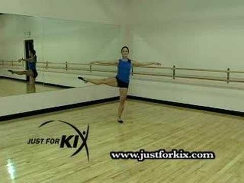 How to do an A La Seconde Turn. By: Just For Kix
