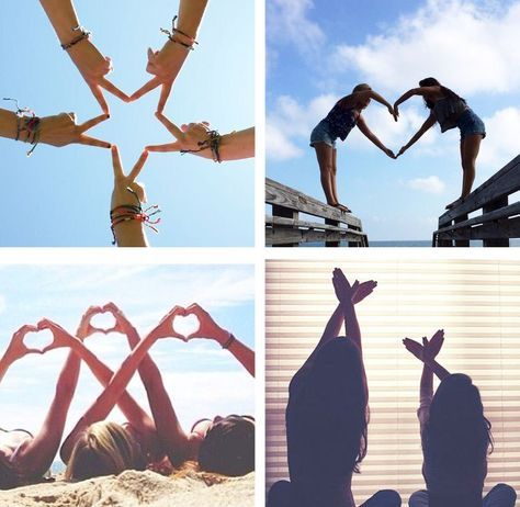 Ideias-de-foto-com-as-amigas-mãos-doces-ideias