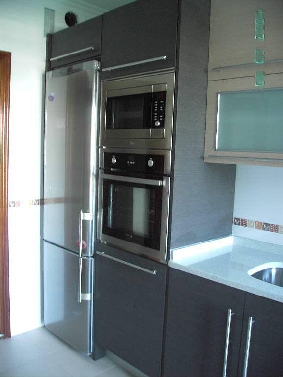 Columna de horno y microondas | Decorar tu casa es facilisimo.com