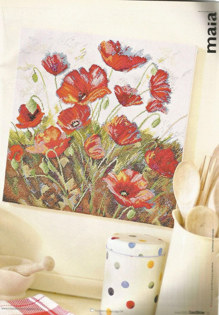 Poppy power - Nel Whetmore - Coats Crafts
