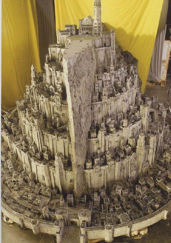 Model: Minas Tirith