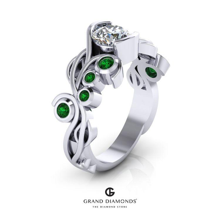 20 best Diamond Rings images on Pinterest