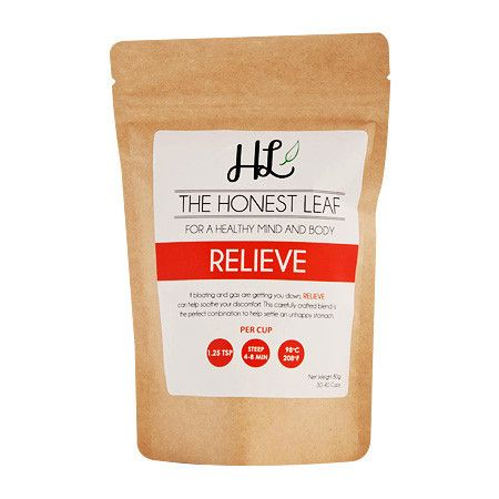The Honest Leaf Tea -Relieve