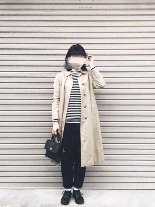 BURBERRYのステンカラーコートを使ったkikoのコーディネートです。WEARはモデル・俳優・ショップスタッフなどの着こなしをチェックできるファッションコーディネートサイトです。