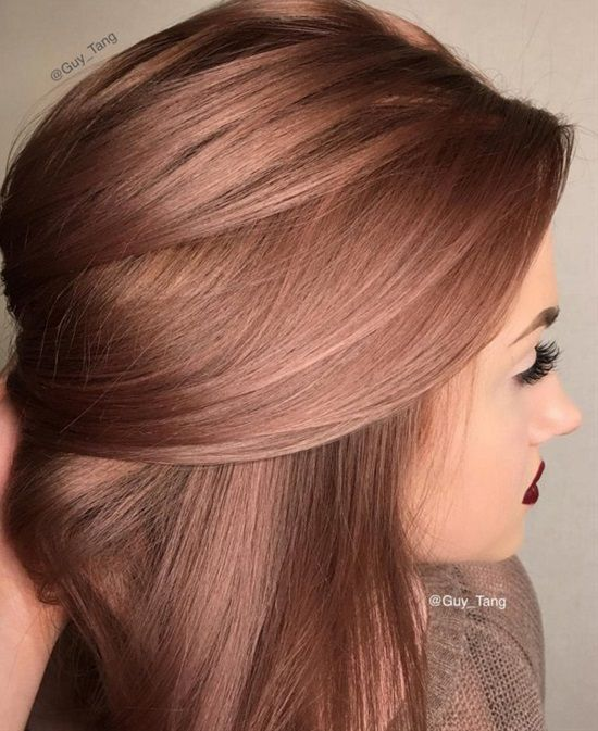 20 Beautiful Winter Hair Color: Best 25+ Winter Hair Colors Ideas On Pinterest