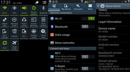 Samsung Galaxy S3 Güncelleme Nasıl Yapılır? Galaxy S3 Güncelleme çok uzun zamandır bekleniyor ancak stabil sürüm hala 4.1.2′dir.  Samsung Galaxy S3 için Android 4.2.2 güncellemesi resmi olarak duyurulmadı ancak test sürümlerini denemek mümkün. Yeni sürümler resmi açıklamalardan önce mutlaka sızdırılıyor.  Detay için:http://www.binbirbilgi.org/samsung-galaxy-s3-guncelleme-nasil-yapilir/