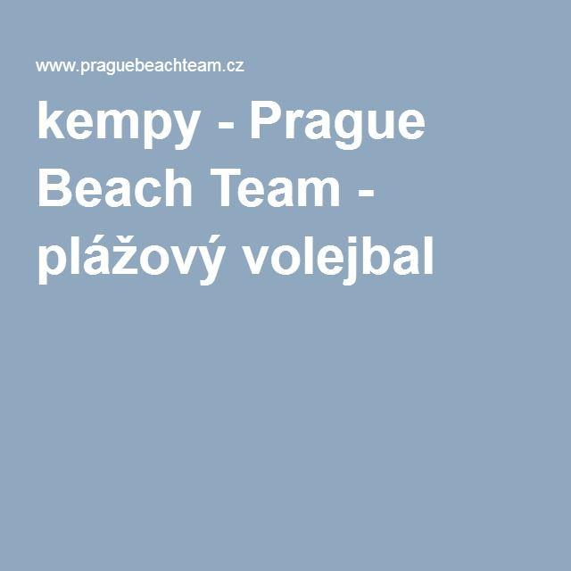 kempy-Prague Beach Team - plážový volejbal