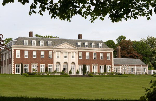 Residence of the US ambassador to London - where Seb and his sister grew up