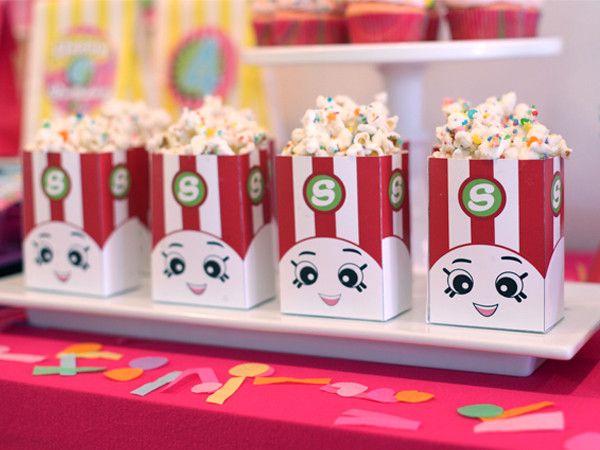 Shopkins party printables party ideas girl theme