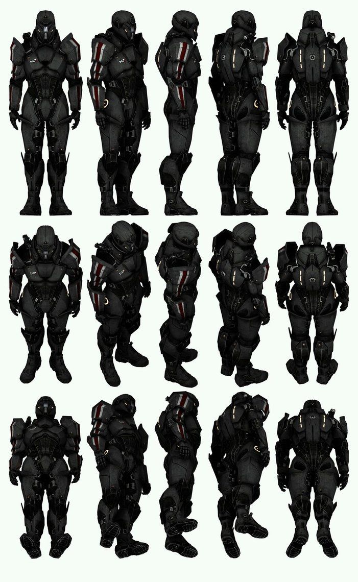 17 best images about project on pinterest armors halo 3 for Mass effect 3 n7 armor template