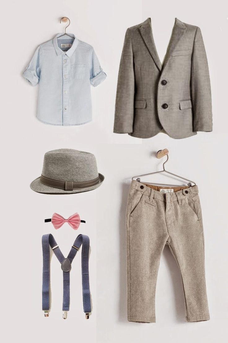 For the Kiddo - Wedding outfit for little boys