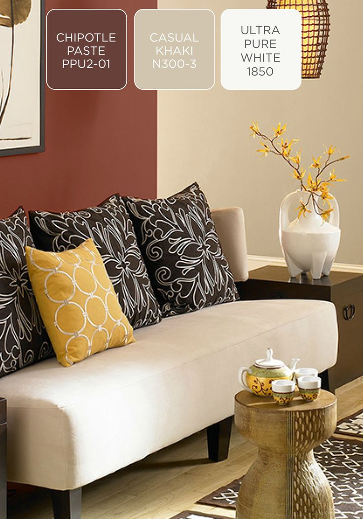 Add A Sultry Side To Your Home Decor By Incorporating A Shade Of Brick  Redu2014like BEHR Paint In Chipotle Paste. Plus, When Itu0027s Combined With  Ethnic Inspired ... Part 58