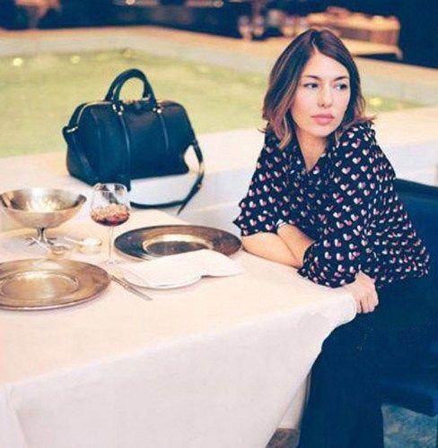 Boston Bag.Sofia Coppola Style Black Leather Tote. Small Size Handbag #Louisvuit…