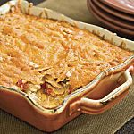 King Ranch Casserole..I like shredded chicken better than cubed http://www.southernliving.com/food/how-to/king-ranch-chicken-casserole-recipe-video?xid=socialflow_facebook