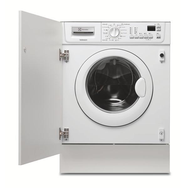 Lave linge integrable Capacité : 7 kg Vitesse d'essorage maxi : 1200 trs/min Capacité variable automatique : oui Volume du tambour : 46 L Livraison gratuite dans Paris et régions parisiennes
