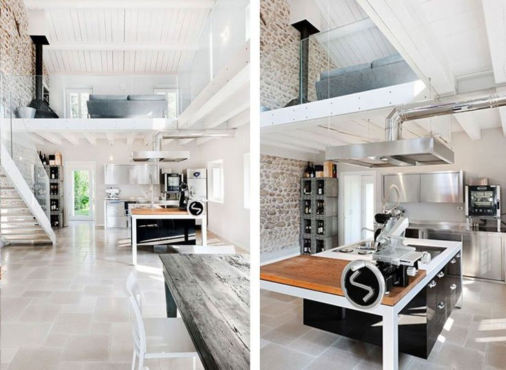 Old Farmhouse Renovation  Modern Italian Interior Design
