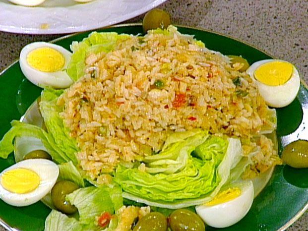 Portuguese Rice and Salt Cod Salad | Recipe | Portuguese, Salad ...