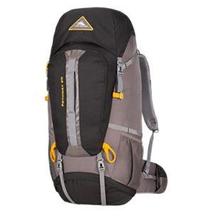 High Sierra Pathway 60L Internal Frame Backpack - Black/Slate/Gold