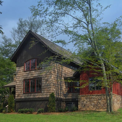 352 best images about converting a barn on pinterest for Modern rustic farmhouse exterior