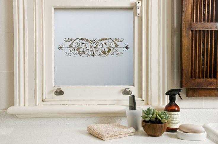 Custom made frosted window film by Frost & Co Window Film