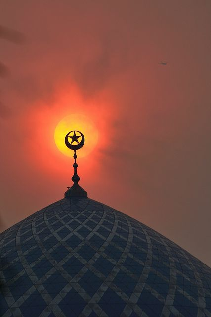 ~ The Haze, The Dome and The Last Flight! ~  By Tuah Roslan Taken on: June 23, 2013 Location: Shah Alam, Selangor, Malaysia