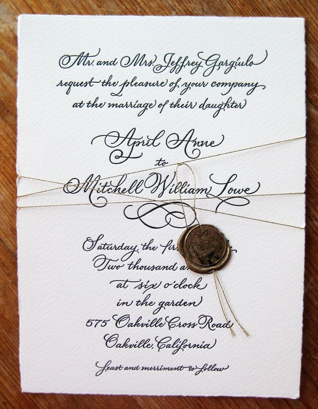 marriage invitation quotes for friends india%0A cotton paper from italy  too much cursive for me  but i love the rest