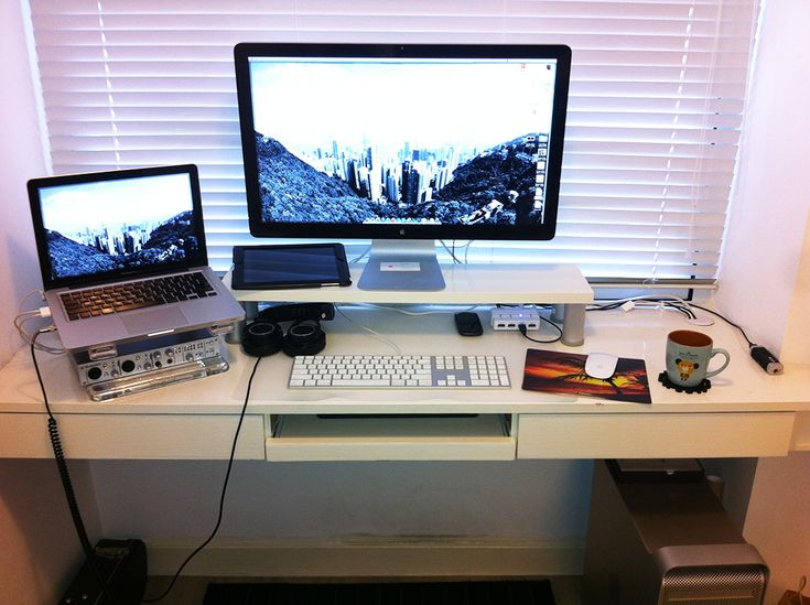 best 25 monitor stand ikea ideas on pinterest monitor stand diy desktop and ikea alex desk. Black Bedroom Furniture Sets. Home Design Ideas